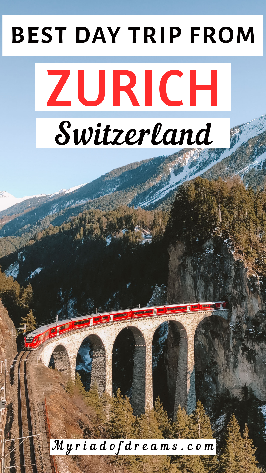Zurich day trip | best one day trip from Zurich | Zurich day trip in winter |Zurich Switzerland day trip | Zurich travel in snow | Things to do in Zurich | Day trip itinerary from Zurich | Best landscape around Zurich | Zurich nature | Sledging in Switzerland | Landwasser viaduct | Filisur Switzerland | Bravuogn Switzerland | Bergün Switzerland | Preda Switzerland #zurichtravel #zurich #switzerland #daytrip