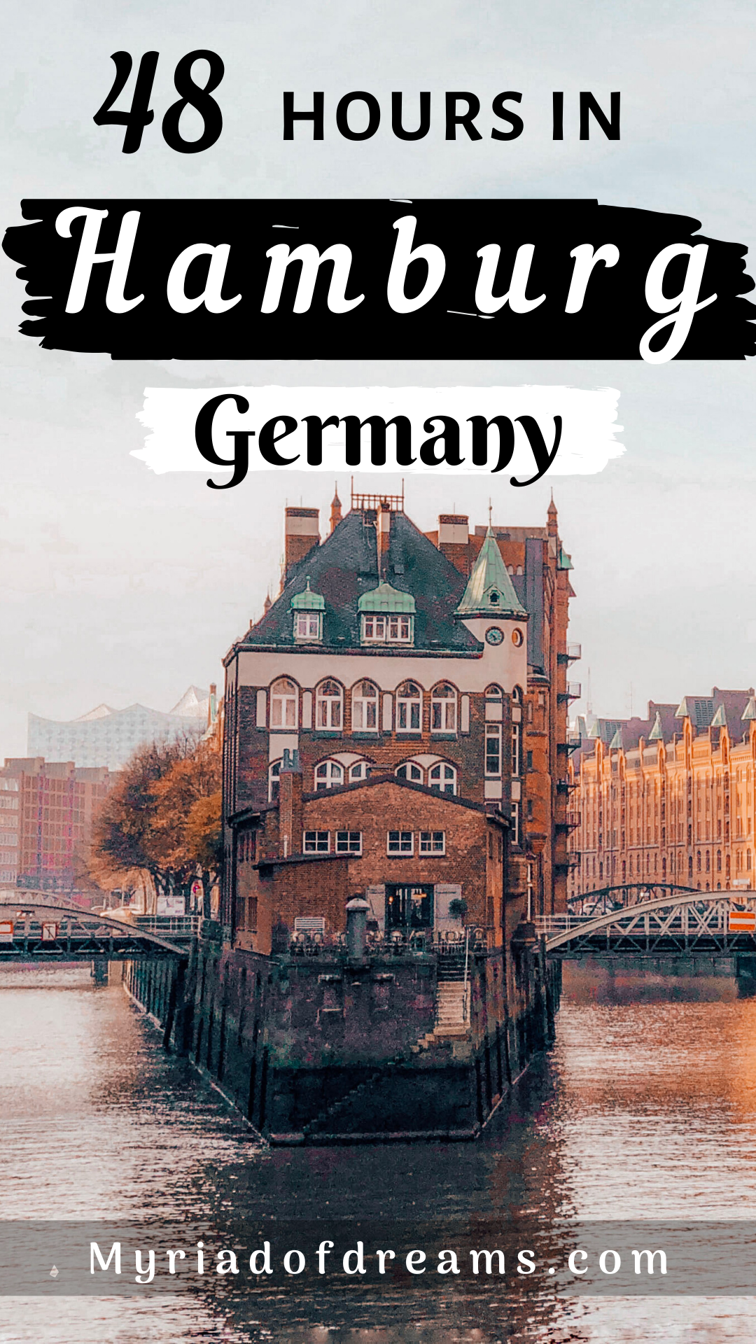 Plan the ultimate city break to Hamburg with this 2 days Hamburg Germany itinerary. Find tips for things to do in Hamburg including a visit to the port, Reeperbahn and St. Pauli. Visit the famous landmarks of the city and learn about the history of Hamburg. This post covers all the bucket list places that one should not miss during their Hamburg travel. #germany #germanytravel #europe #europetravel #hamburg