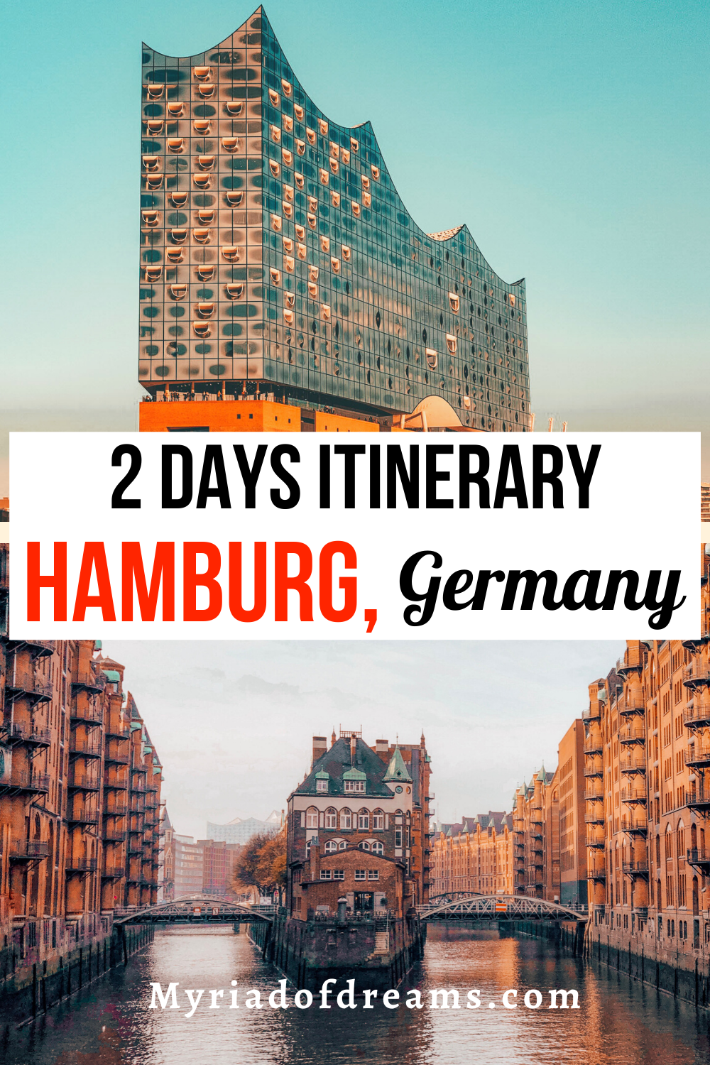See Hamburg in 2 days with Hamburg Germany travel guide. Explore the best things to do in Hamburg including the Elbphilharmonie, St.Pauli and other historic locations. This Hamburg itinerary also covers the best tours to take to explore the nightlife of Reeperbahn. #germany #germanytravel #europe #europetravel #hamburg