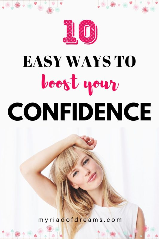 Every now and then we need to boost our self esteem. I will show you how to boost your confidence in 10 simple steps like a boss | Building self confidence | Self improvement tips | Self development. #confidence #selfconfidence #selfesteem
