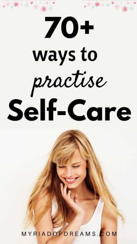 More than 70 things to do at home on a self care day. Include these ideas in your self care routine to become your best self. Take care of your mental health by practicing self care regularly. There are so many things to do at home on a bad day. Practise self love and take care of your body, mind and soul. Self improvement tips | self development | #mentalhealth #selfcareroutine #selfcareideas