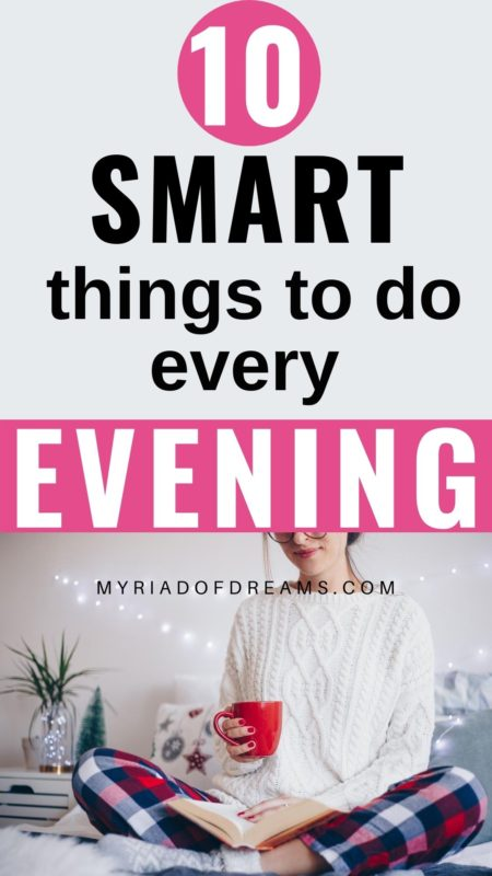 Looking for an evening routine for a productive day ahead? Or an evening routine for mental health? Then this post can help you. This healthy evening routine for women will help you create a self care routine. Full of evening routine ideas to help you feel motivated in the morning, this perfect night time routine will be great for you! #eveningroutine #nightroutine #selfcare #selfimprovement #personalgrowth #personaldevelopment