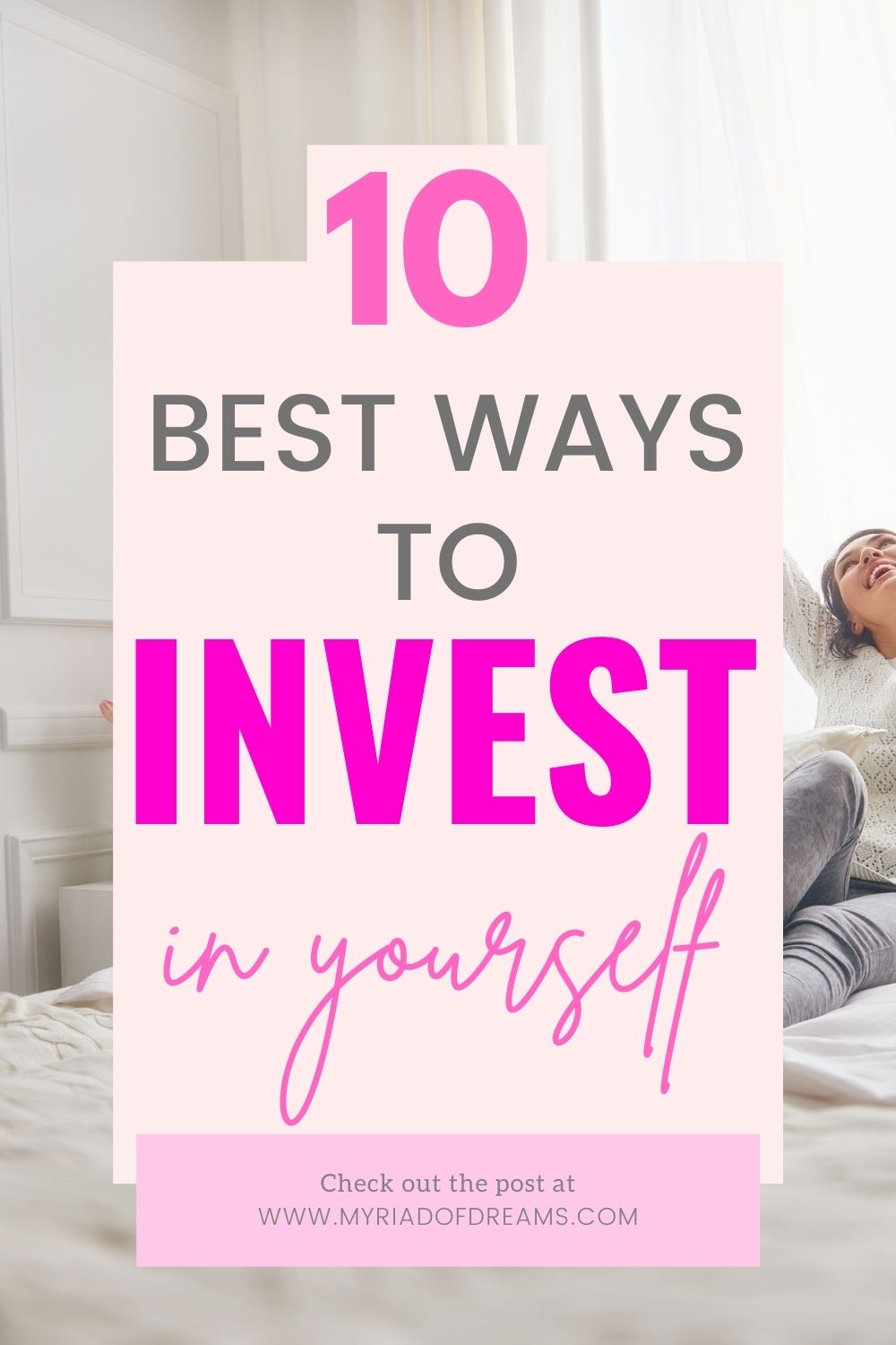 Pinnable image for the post how to invest in yourself